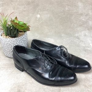 Dexter Black Leather Oxfords Dress Shoes Mens 8 M